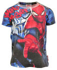 Boys Marvel Spiderman Web Slinger T-Shirt Top 18 Months to 7 Years NEW