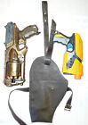 Steampunk Faux Leather Holster for Many Nerf Guns or Blasters with optional accs