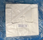 STRONG White Lynx Vest Shopping Carrier Bags 13x19x23 20mu VC6