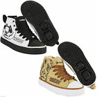 NEW HEELYS X2 ZOO JUNIOR BOYS GIRLS ROLLER SKATE TRAINERS UK SIZE LION PANDA