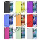 0.2mm Ultra Thin Matte Frosted TPU Clear Case Flexible Apple iPhone 6 and 6S