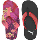 Puma Glam Flip Flower/Bow Unisex Mens Womens Thong Beach Summer Flip Flops