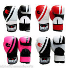 Morgan Professional Leather Boxing Gloves Mitts MMA UFC Muay Thai ANBF APPROVED