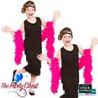 Girls Charleston Flapper 1920s Gangster Fancy Dress Costume Dress Headband 3619
