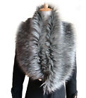 Fashion New Faux Fur Collar Raccoon Fox Fur Collar Scarf Stole Cape Muffler Wrap