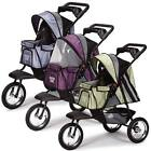 Sprinter EXT II Dog Pet Stroller Guardian Gear Sporty Air Filled Tires 3 Colors