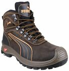 Puma Nevada Mid S3 SRC Composite Toe & Midsole Brown Safety Waterproof Boots