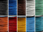 Wholesale 3M PU Leather Necklace Charms Rope String Cord 1.5 2.0 mm Colors