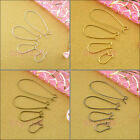 Kidney Earring Wire Silver,Gold,Bronze,Black,4style-1 R5030