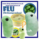 GIANT microbes Flu Virus Soft Educational Child Toy Get Well Funny Gift Health
