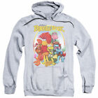 Hoodies Sizes S-3XL New Fraggle Rock Group Hug Adult Pullover Hoodie 80s