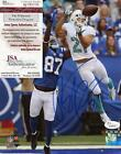 BRENT GRIMES  MIAMI DOLPHIN VS COLTS SIGNED AUTOGRAPHED 8X10 PHOTO JSA W380736