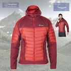 Berghaus Men's Ulvetanna Hybrid Down Jacket - Red - Authorised Dealer
