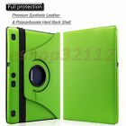 "Rotating Stand Case Fit Cover For Lenovo Tab 2 A10-70 10"" Android Tablet"