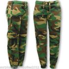 KIDS ARMY JOGGERS CAMO CARGO PANTS TROUSERS BOYS GIRLS CAMOFLAUGE AIRSOFT