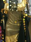 Oriental Egyptian Belly Dance Costume Saidi Dress Baladi GalabeyaFallahi Abaya