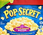 movie butter - Pop Secret Premium Popcorn Movie Theater Butter Made in USA, 30 or 15 Bags