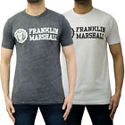 Mens Franklin & Marshall T Shirt Designer Branded Jersey Printed Tee Top BNWT
