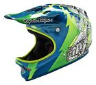 Troy Lee Designs 2016 D2 Composite Invade Green Helmet Adult All Sizes
