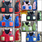 Внешний вид - HILASON KIDS JUNIOR YOUTH BULL RIDING PRO RODEO LEATHER PROTECTIVE VEST CHAPS