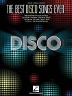 NEW The Best Disco Songs Ever (Piano/Vocal/Gutiar) by Hal Leonard Corp.