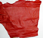 Antique Red Quality Leather Sheep Lamb Nappa Skins