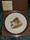 1978 Lenox Plate WHITETAIL DEER Edward Marshall Boehm with box