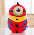 Despicable Me Minions Plush Toys 3D Eyes Soft Doll Toys 8""
