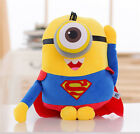 """Despicable Me Minions Plush Toys 3D Eyes Soft Doll Toys 8"""""""