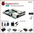 Raspberry Pi 3 Model B Starter, Media Center, BT, Premium & Ultimate Kit (B/C)