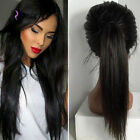 Bleach knots silk straight 100% Remy Human Hair Lace  Full Lace/Lace Front Wig