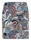 Collectif Vintage B & B Stacey Paisley Print Mini Skirt