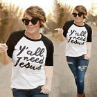 New Fashion Women Short Sleeve T Shirt Casual Tops Ladies' Summer Blouse Tops