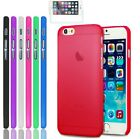 iPhone Apple 6 / 6s case Ultra Thin 0.3mm Matte Hard Cover Cell Phone Protector