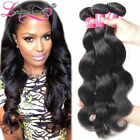 100% Virgin Indian Body Wave Hair Bundles 300G Unprocessed Human Hair Extensions