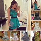 Fashion Women Ladies Sleeveless Bodycon Skirt Casual Cocktail Party Mini Dress#