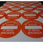 Внешний вид - Warranty Void if Seal Broken Tamper Proof  Security Stickers labels (AVR003)