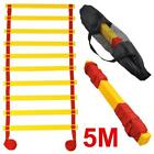 New Speed Agility Soccer Sports Practise Training Ladder Outdoor Fitness 5M