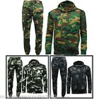 MENS CAMOUFLAGE JOGGER TRACKSUIT  S - 5XL GAME CAMO JOGGING BOTTOMS HOODIE