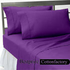 Hotel Collection US Twin Size 800-1000-1200TC Cotton New 4pc Sheet Set 42-Colors