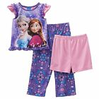 Disney's girls Pajama Set Frozen Elsa & Anna Sparkle in Snow Toddler size 4T NEW