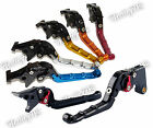 CNC Aluminium Folding Brake Clutch Levers For 1999-2001 YAMAHA YZF R1 YZFR1 RN01