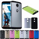 Armor Shockproof Hybrid Hard Shell Slim Case Cover For Motorola Google Nexus 6