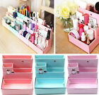 Pink Cosmetic Organizer Clear Makeup DIY Drawer Holder Case Box Jewelry Storager