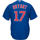 Majestic Athletic Men's Chicago Cubs Kris Bryant 2015 Cool Base Alternate Jersey