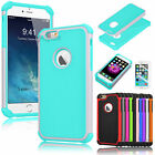 Hybrid Heavy Duty Armor Defender Case Cover For iPhone 6S 4.