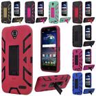 For ZTE Grand X3 Z959 N9519 Hip Vertical Hybrid Stand Cover Case