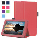 New Leather Flip Magnetic Tablet Stand Case Cover For Amazon Kindle Fire 7 2015