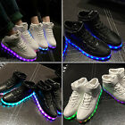 Unisex 2016 NEW LED Light Luminous Sneaker Luminous Casual Ankle Boots Shoes