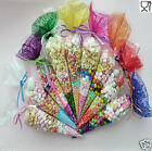 30 Party Bags Clear cone Coloured bags cello cellophane sweet candy display kids